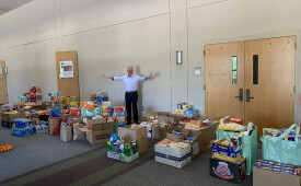 Food Drive for TWU Students Affected by Pandemic